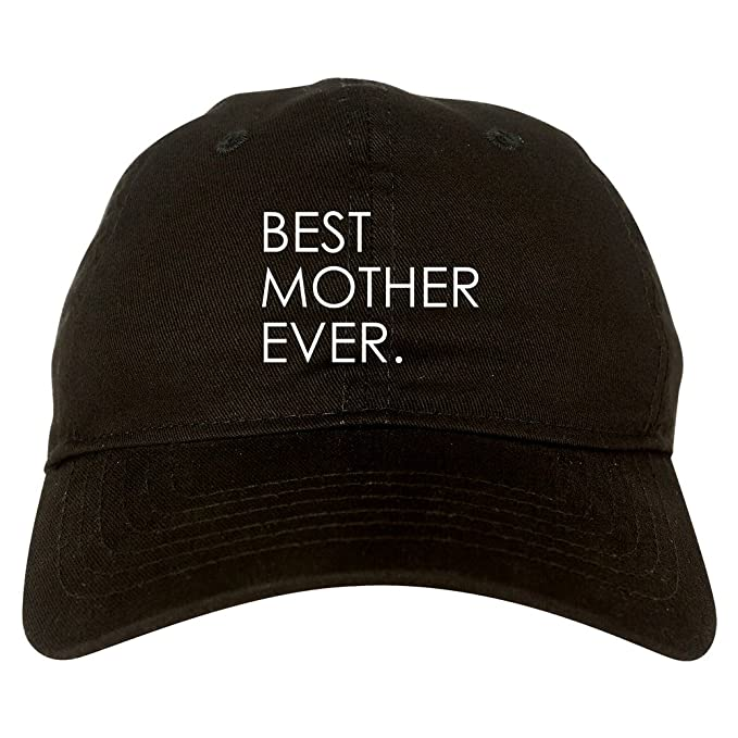 1ad37104d61 Amazon.com  Best Mother Ever Mom Gift Dad Hat Black  Clothing
