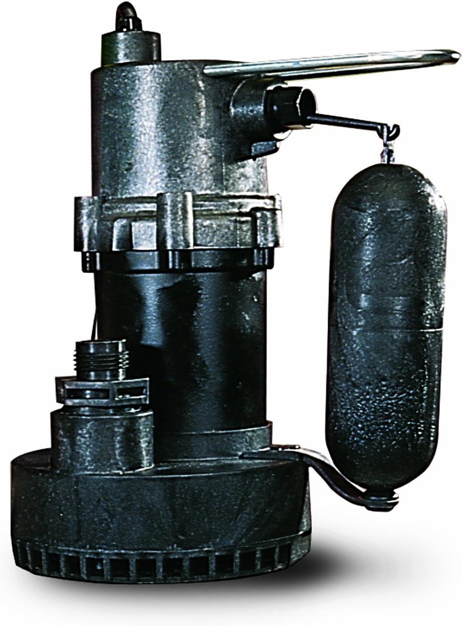 Little Giant 505700 5.5 ASP Submersible Sump Pump, 10, Steel