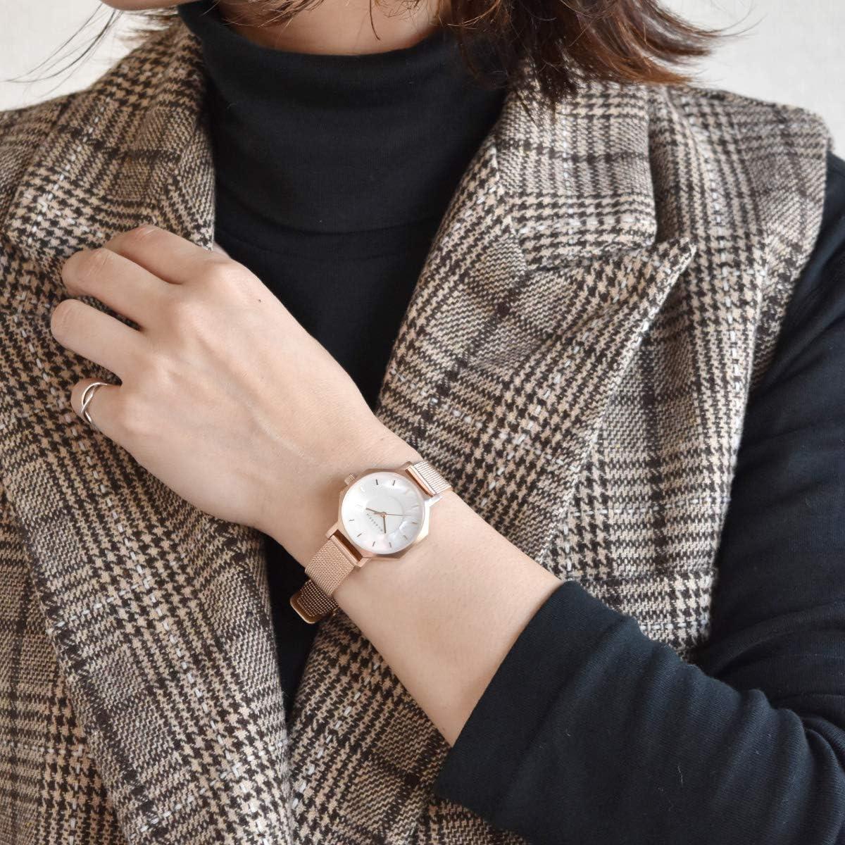 [クラス14] KLASSE14 OKTO MOP オクト 腕時計 レディース (28mm, White)