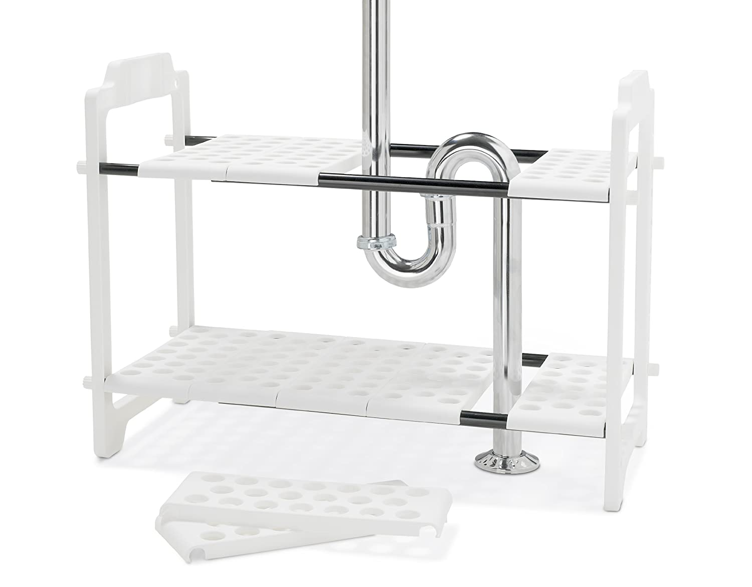 Amazon.com - madesmart Undersink Shelf Organizer - Undersink Shelf