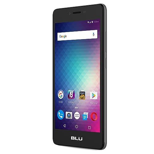 BLU Studio G HD LTE -4G LTE SIM-Free Smartphone -8 GB + 1 GB RAM- Grey