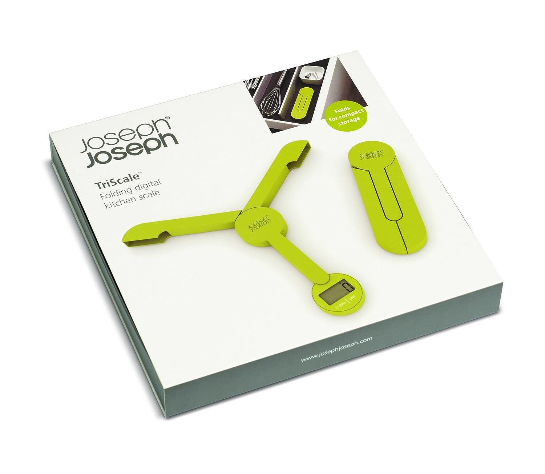Joseph Joseph TriScale Compact Folding Digital Scale White