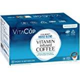 VitaCup Gourmet House 45 ct. Top Rated Coffee Cups Infused With Essential Vitamins B12, B9, B6, B5, B1, and D3, Pods Compatible with K-Cup Brewers including Keurig 2.0
