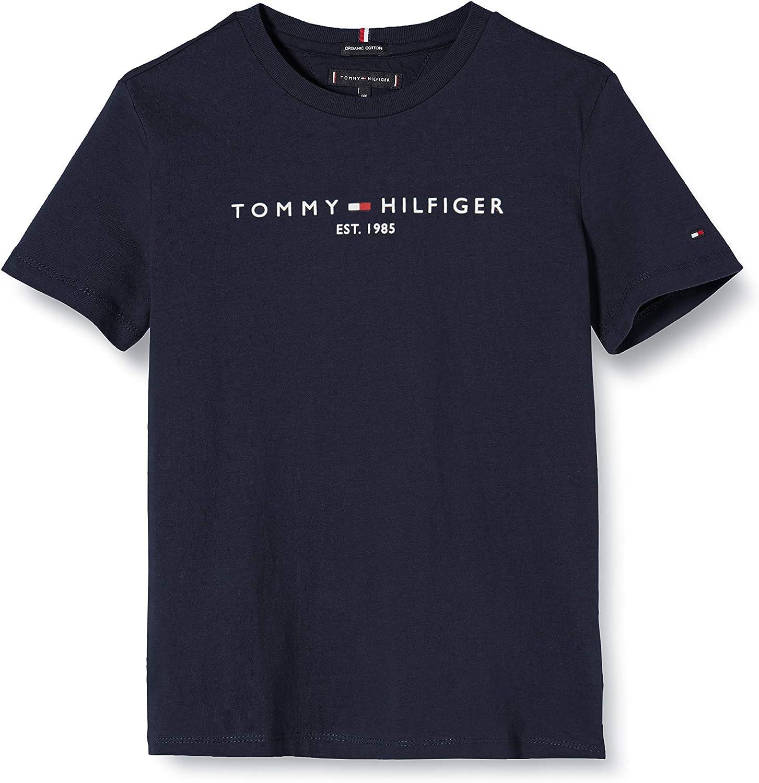 Tommy Hilfiger Essential tee S/S Camisa para Niños: Amazon.es: Ropa y accesorios