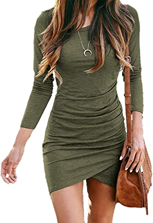 casual fitted short dresses