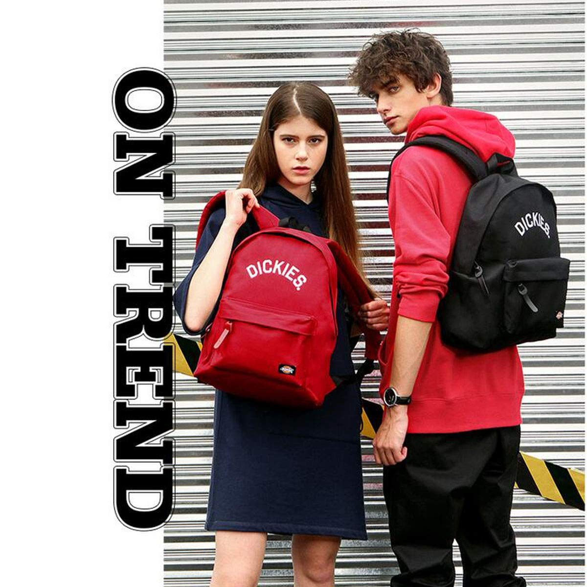 College Students Fashion Embroidery Bag Black, Blue, Gray, Pink, Light Blue, Red Color : Blue Chenjinxiang01 Stylish Solid Color Classic Backpack