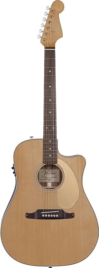Guitarra eléctrica, color natural Fender 0968609006 Sonoran SCE ...