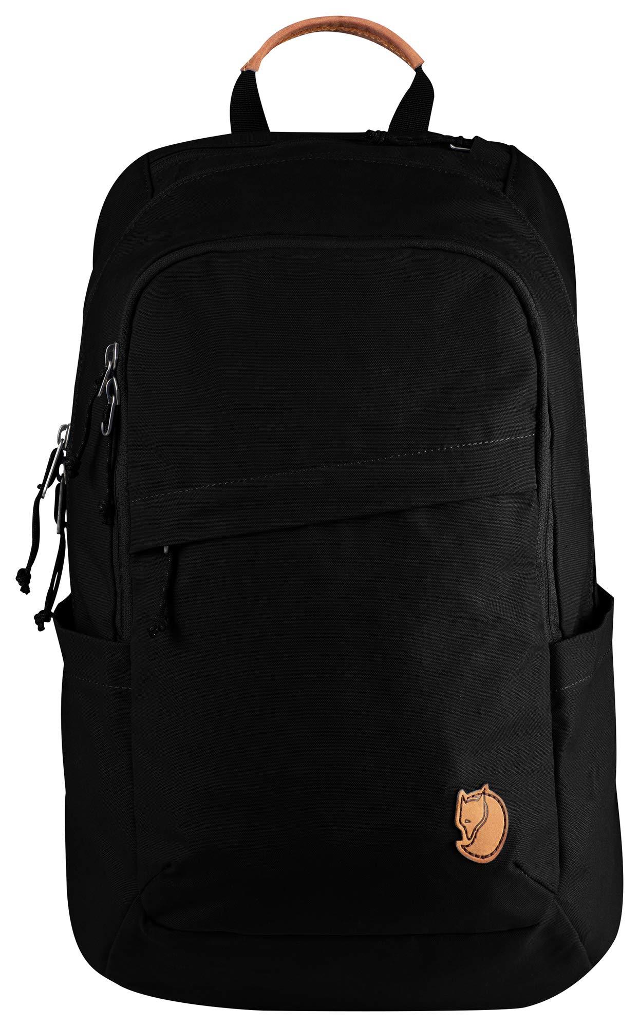 Fjallraven - Raven 20 Backpack, Fits 15'' Laptops, Black