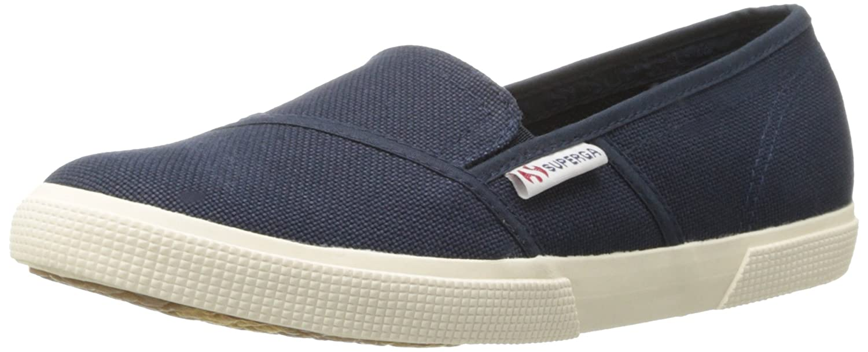 Navy Superga Women's 2210 Cotu Fashion Sneaker