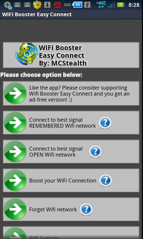 Download wifi booster easy connect android tablet
