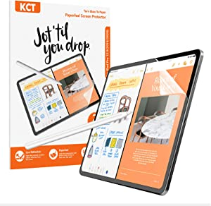 [2 PACK]Paperfeel iPad Air 4 (10.9 inch, 2020) /iPad Pro 11 Screen Protector(2020 and 2018 Model),iPad Air 4 /iPad Pro 11 Matte Screen Protector for Drawing Anti-Glare and Paperfeel Easy Installation Kit