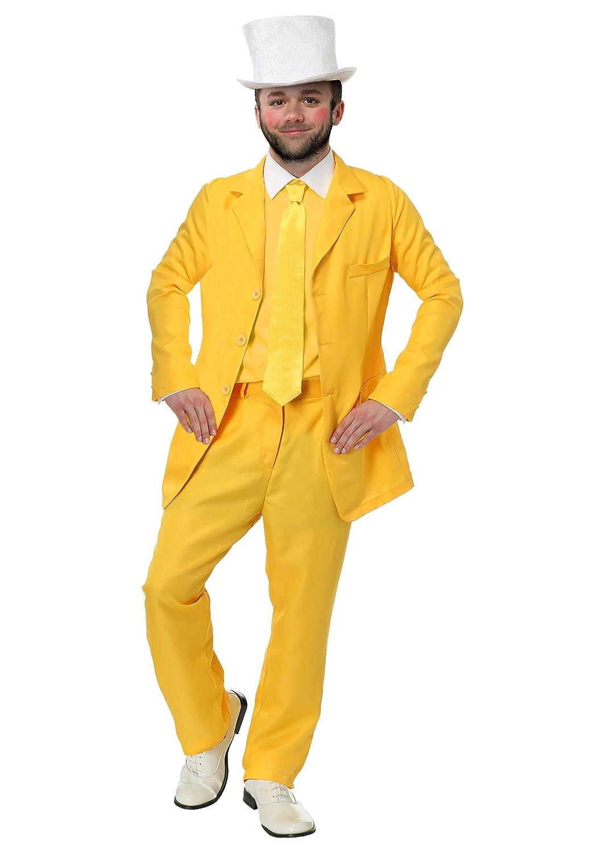Immer Sunny Dayman Gelb Anzug Plus Größe Kostüm - 2X
