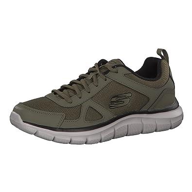 ea97762c288cf Skechers Track Scloric Men Sneaker Trainers Olive Black 52631 ...