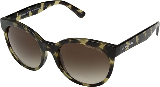 Michael Kors Cartagena 333513 54, Gafas de Sol para Mujer, Marrón (Olive Tortoise