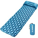 Speedsporting Inflatable Sleeping Mat by Camping Mattress and Inflatable Roll Mat- Compact and Moistureproof - for Hiking, Backpacking, Hammock,Tent