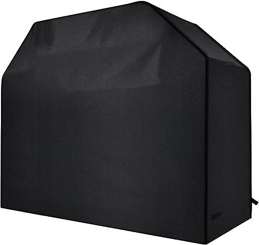 int/érieur ou ext/érieur pluie poussi/ère protection avec sangles Velcro et sac de rangement Size S-145cm 190T Oxford Tissu Heavy Duty /étanche au gaz Grill pour barbecue Housse Housse de barbecue