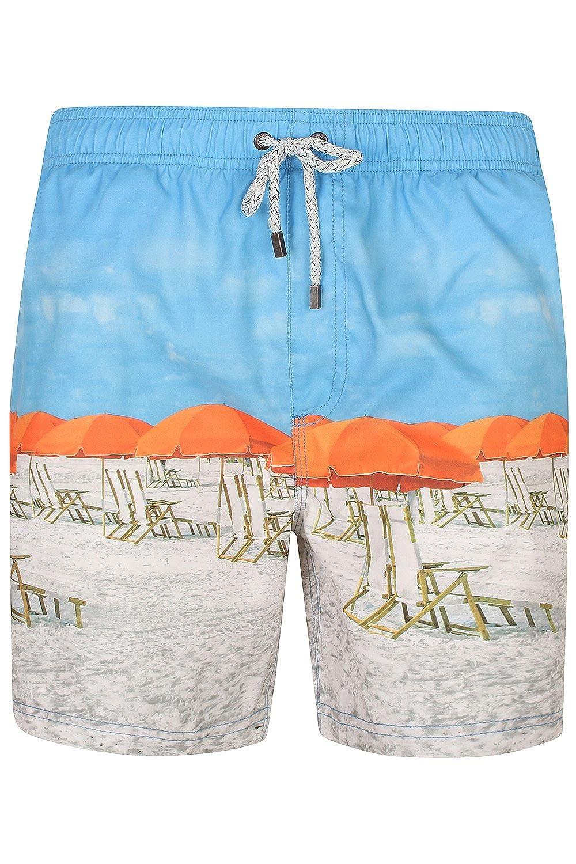 TALLA S. Tokyo Laundry - Pantalón Corto - Floral - para Hombre