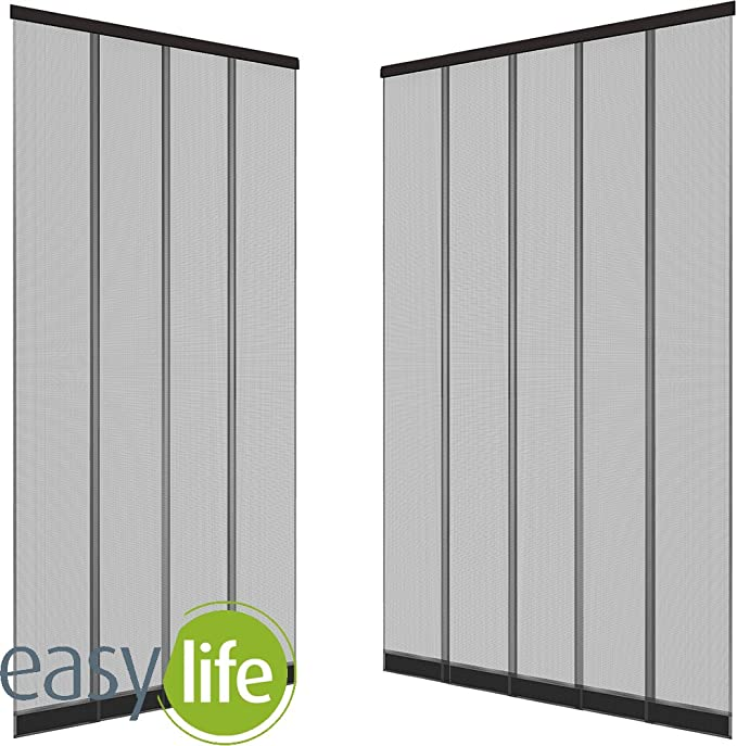 Mosquitera cortina de láminas para puertas - 125 x 240 cm - ajustable individualmente: Amazon.es: Bricolaje y herramientas