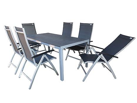 Doppler \'7 pièces Luxe Aluminium Salon Meubles de jardin ...