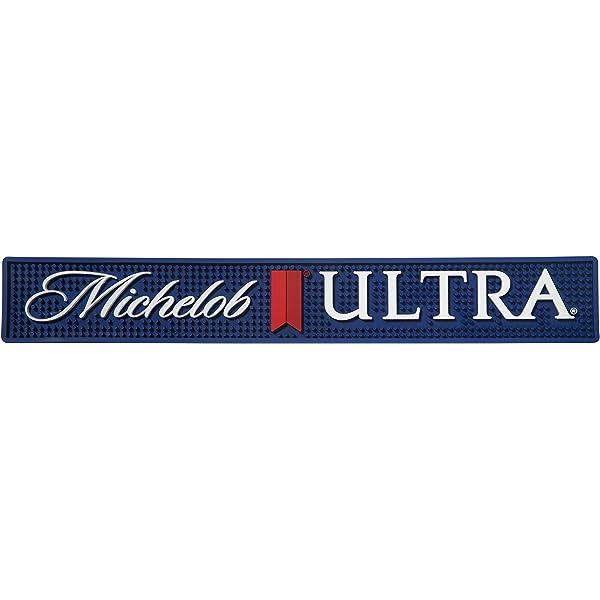 MICHELOB ULTRA BAR SPILL MAT RUBBER COASTER NEW