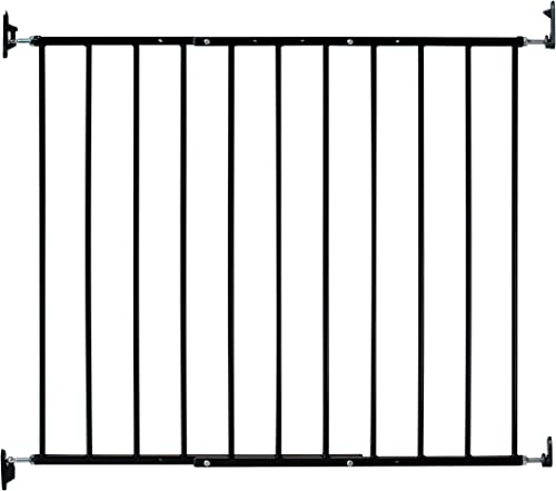 KidCo Safeway Hardware Mounted Baby Gate – Black