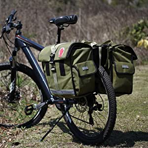 ArcEnCiel – Soporte impermeable para bicicleta portaequipajes para bicicleta alforja bolsa: Amazon.es: Deportes y aire libre
