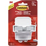 Command Broom Gripper, White with Grey Band by Command