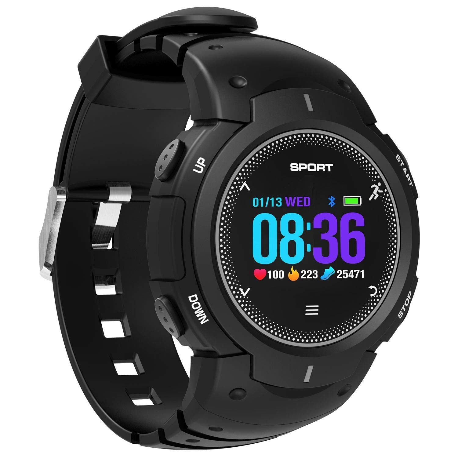 DTNO.I F13 Smart Watch Waterproof IP68 NO.I Smartwatch ...