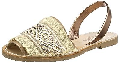 Womens Noche Franja Sling Back Sandals Solillas dKM4w