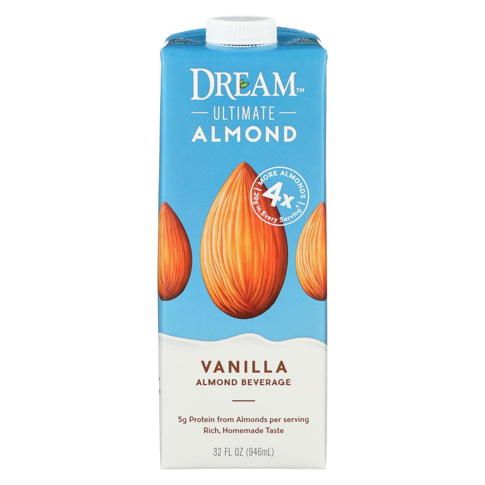 Dream Bev Almond Vanilla Ultimate, 32 oz