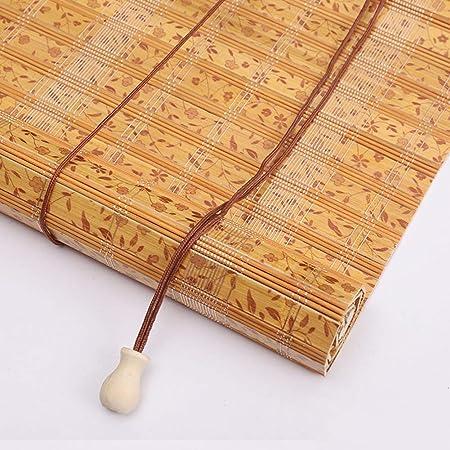 Persiana de bambú Persiana Enrollable De Listón De Bambú, Persiana ...
