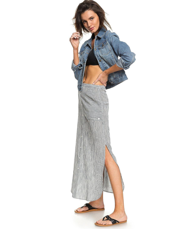 Roxy - Falda Larga - Mujer - M - Blanco: Amazon.es: Ropa y accesorios