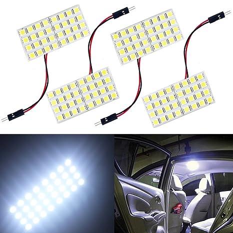 Amazon.com: GrandviewTM - Juego de 4 luces LED 5050 24SMD ...