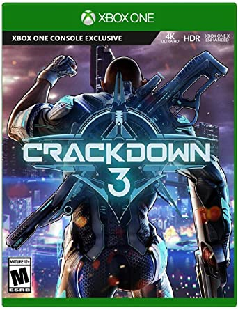 Amazon Com Crackdown 3 Standard Edition Xbox One Microsoft Corporation Video Games