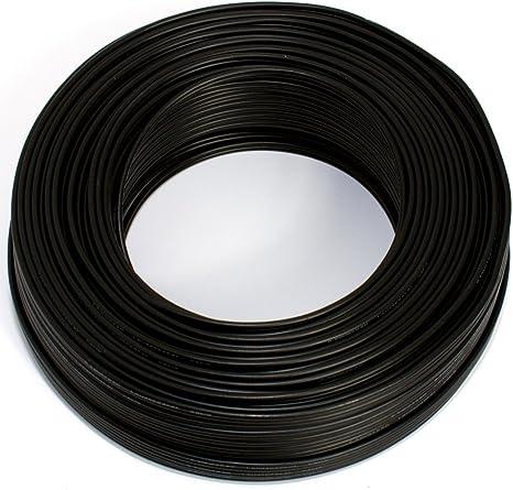 Lautsprecherkabel Schwarz 2x 0 75mm 25m Ring Elektronik