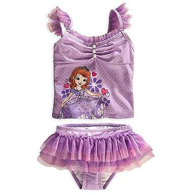e97241af20f3e Amazon.com: Disney Store Sofia the First Swimsuit Size XXS 3 (3T ...
