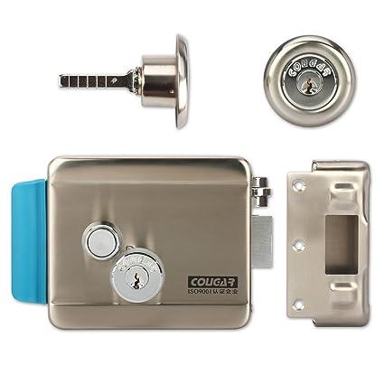 8b489521078 Amazon.com  Electric Release Door Lock