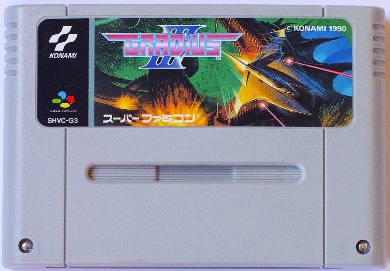 Gradius III, Super Famicom (Super NES Japanese Import ...