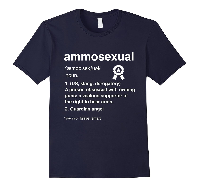Ammosexual Definition Hunting Guardian Angel T-shirt-FL