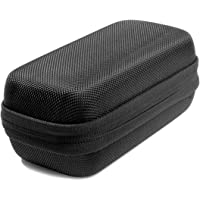 Digital Voice Recorder Case for SAIMPU, Hard EVA Travel Case Also Fit MP3 Players, USB Cable, Earphones, Memory Cards and U Disk(BLACK)