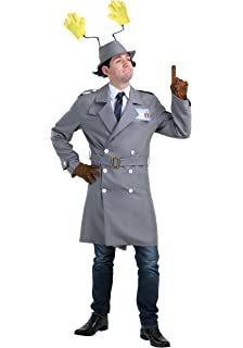 Inspector Gadget Menu0027s Fancy Dress Costume X Large