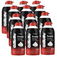 Amazon Price History for:Gillette Foamy Regular Shaving Foam, 11 oz (Pack of 12)