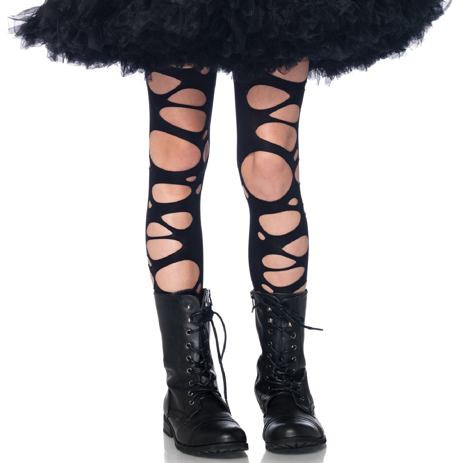 Tattered Child Tights Leg Avenue