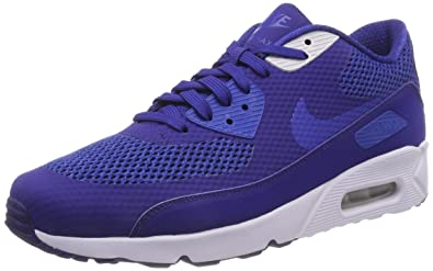97e73d6744 Nike Men's Air Max 90 Ultra 2.0 Essential Low-Top Sneakers, (Deep Blue