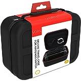 Nintendo Switch ケース ニンテンドースイッチの保護ケース VORI 収容力が大きい 防水 防塵 耐衝撃 全面保護 キャリングケース 旅行用収納バッグ 小物収納可 ブラック