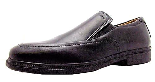 Geox Jr Federico N - Mocasines para niño negro negro, color negro, talla 4 UK: Amazon.es: Zapatos y complementos
