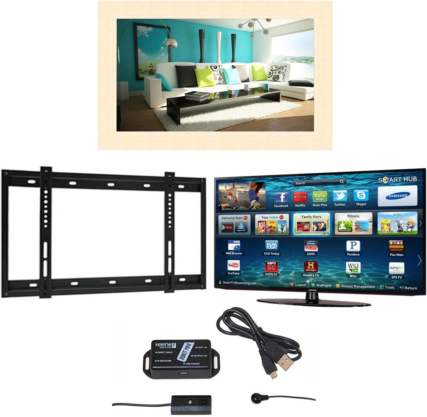 Barbican TV Espejo Marco, Samsung M6100 LED Smart TV, Soporte de Pared y Extensor de Infrarrojos: Amazon.es: Electrónica