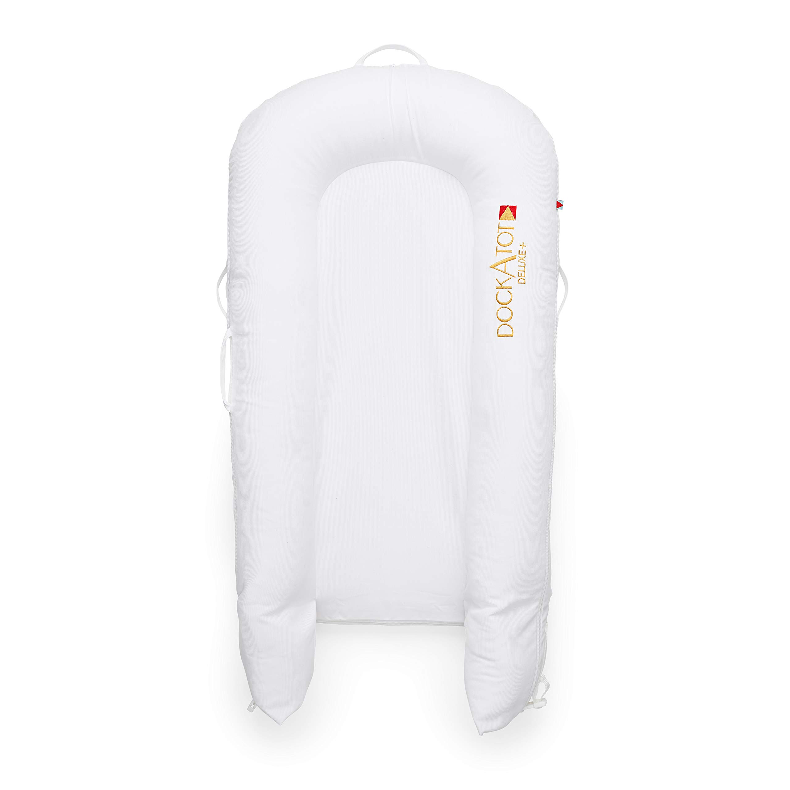 DockATot Deluxe+ Dock (Pristine White) - The All in One Baby Lounger - Perfect for Co Sleeping - Suitable from 0-8 Months (Pristine White) by DockATot (Image #2)