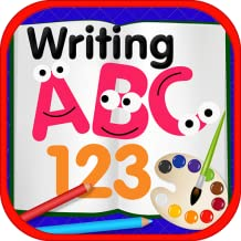 ABC 123 Writing Coloring Book