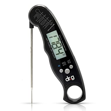 Your Physician's Recommended – Digital-Instant Read-Accurate-Water Proof-℉/℃ Switchable-Eco Friendly Thermometer With Back light-For Meat, Tea, BBQ, Grill, Candy, Milk, Indoor/Outdoor Cooking By Dr-G